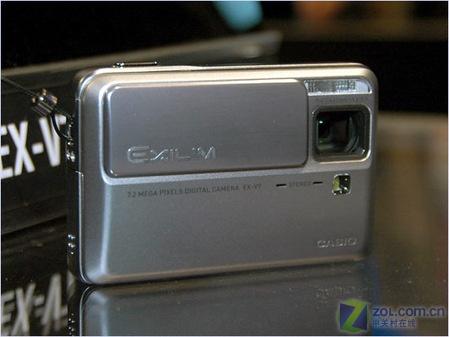 7倍光变带防抖 卡西欧卡片机EX-V7上市