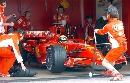 图文:[F1]里卡多赛道测试  马萨准备出发