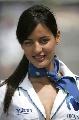 图文:[F1]西班牙大奖赛美女 甜美的微笑