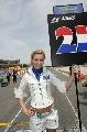 图文:[F1]西班牙大奖赛美女 阿尔伯斯的车模
