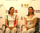 """图文:""""花游双姝""""访谈 两姐妹笑魇如花"""