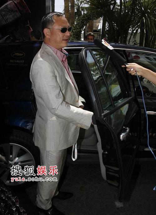 杜琪峰接受搜狐娱乐采访