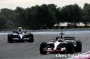 图文:[F1]里卡多赛道测试 德拉罗萨被追赶
