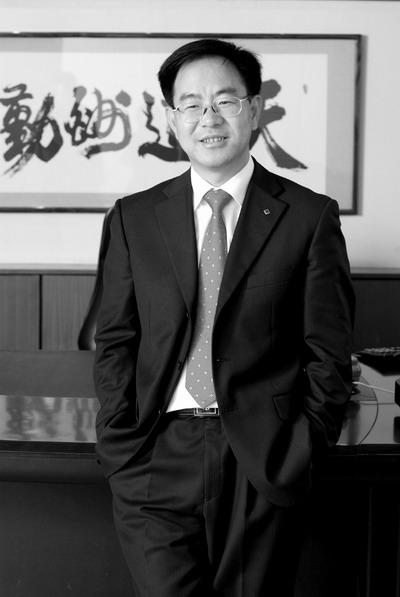 嘉盛房地产董事长刘则平。
