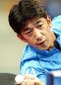 图文:世乒赛日本队全体队员 男单选手松下浩二