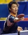 图文:世乒赛日本队全体队员 男双队员高木和卓
