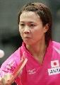 图文:世乒赛日本队全体队员 女单平野早矢香