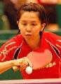 图文:世乒赛日本队全体队员 女单选手�科至钭�