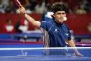 图文:世乒赛美国队全体队员 欧文斯参加三项
