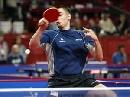 图文:世乒赛美国队全体队员 马克-哈金斯基