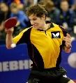 图文:世乒赛奥地利队全体队员 加尔多斯抽球