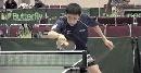 图文:世乒赛美国队全体队员 韩晓反手回球