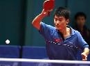 图文:世乒赛朝鲜全体队员 男子主力李一国