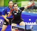 图文:世乒赛德国全体队员 女单选手沃西克