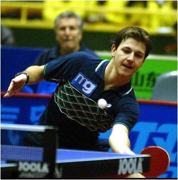 图文:世乒赛德国全体队员 波尔是德国招牌