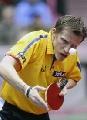 图文:世乒赛德国全体队员 男子主力罗斯科普夫