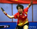 图文:世乒赛中国队全体队员 混双4号种子曹臻