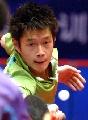 图文:世乒赛中国队员 混双4号种子选手邱贻可