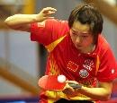 图文:世乒赛中国队全体队员 女双7号种子李楠