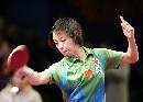 图文:世乒赛中国队全体队员 女1号种子张怡宁
