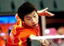 图文:世乒赛中国队全体队员 男8号种子马龙
