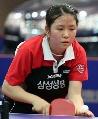 图文:世乒赛韩国队队员介绍 女削球手朴美英