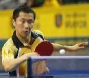 图文:世乒赛韩国队队员 成熟冷静的赵彦来