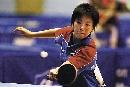 图文:世乒赛中国台北全体队员 女单队员李依真