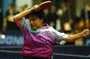 图文:世乒赛中国台北全体队员 女单队员郑怡静