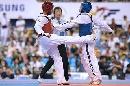 图文:世锦赛男子67公斤级半决赛 战局焦灼