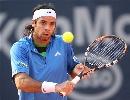 图文:ATP汉堡大师赛第五日 冈萨雷斯准备击球