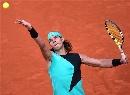 图文:ATP汉堡大师赛第五日 纳达尔自信十足