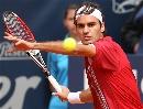 图文:ATP汉堡大师赛第五日 费德勒瞄准来球