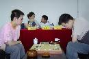 图文:围甲次轮 武汉队古灵益对阵西财队董彦