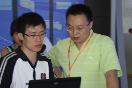 图文:体博会第三天 篮协开发部主任肖红安