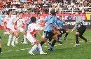 图文:[国青]中国0-1乌拉圭 举目望明月