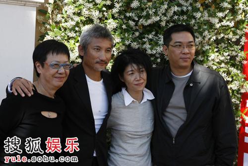 关锦鹏、徐克、许鞍华合影