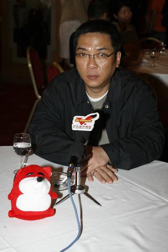 关锦鹏接受搜狐独家采访