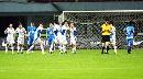 图文:[中超]长沙金德VS上海 阿隆索庆祝进球