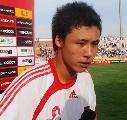 图文:[国青]中国0-1乌拉圭 国青队长张琳�M
