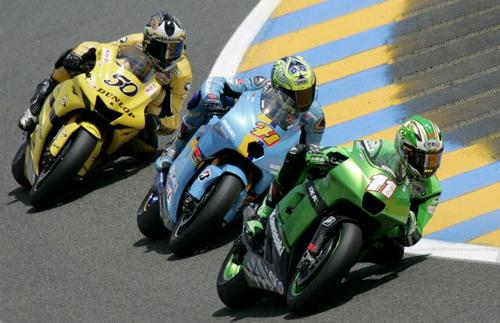 图文:[MotoGP]法国站排位 排位赛的竞争也激烈