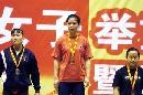 图文:全国女子锦标赛赛况 陆莎丽获冠军