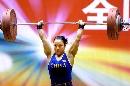 图文:全国女子锦标赛赛况 张少玲在比赛中