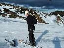 图文:德国选手波尔风采 滑雪也是兴趣