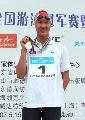 图文:全国游泳冠军赛第六日 庞佳颖摘得冠军