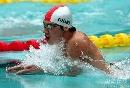 图文:全国游泳冠军赛第六日 山西选手薛瑞鹏