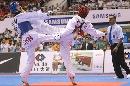图文:吴静无缘女子51公斤级16强 与对手火拼