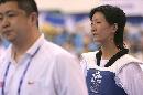 图文:吴静无缘女子51公斤级16强 遗憾不敌对手