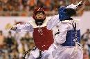 图文:罗微惜败女子72公斤级半决赛 双方对决