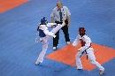 图文:罗微惜败女子72公斤级半决赛 凶狠进攻
